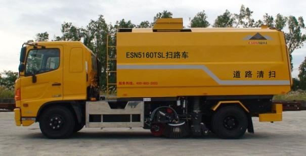 易山重工ESN5160TSL环卫扫路车-重尘路面快扫车