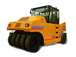 厦工XG6262P轮胎压路机高清图 - 外观