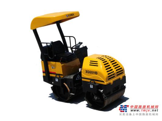 廈工XG6011D雙鋼輪振動壓路機