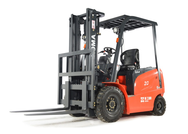 厦工XG520B-AA5电动叉车高清图 - 外观