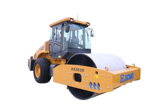 徐工XS203S全液压单钢轮振动压路机