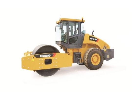 徐工XS183J机械单钢轮振动压路机