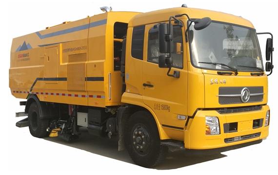 易山重工ESN5160TXC干扫车 吸尘车 纯吸车 纯吸式清扫车(可租赁)