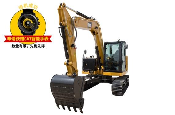 卡特彼勒新■一代Cat?308.5迷你型液压挖掘机