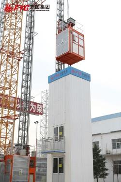方圆SC100井道式施工升降机