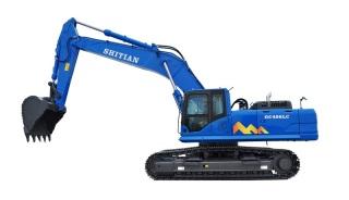 十田重工GC498LC-9挖掘机