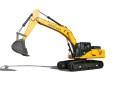 十田重工GC378LC-9挖掘机高清图 - 外观