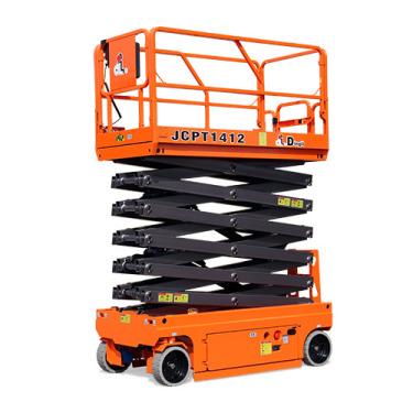 鼎力JCPT1612HDS自行走剪叉式高空作业平台(液压马达驱动)