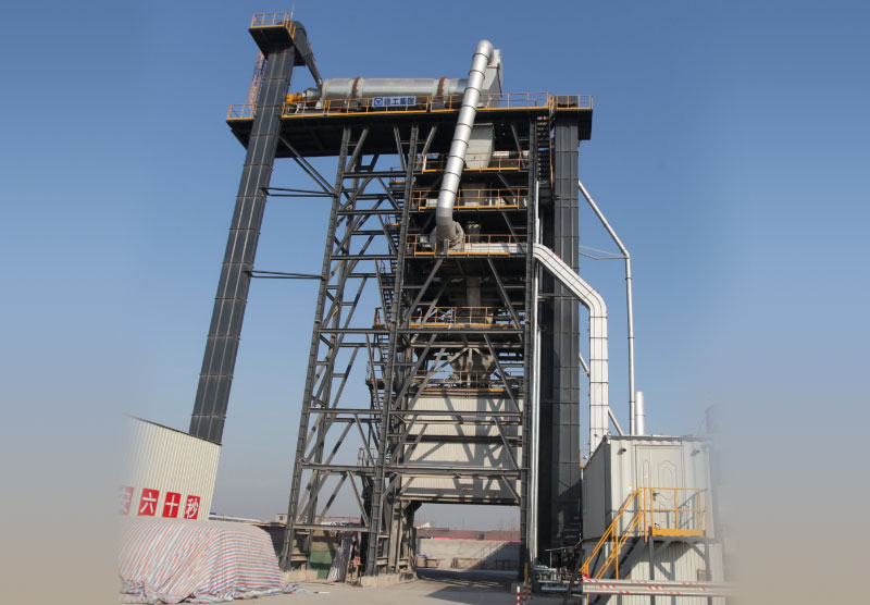 徐工XRP130沥青厂拌热再生设备高清图 - 外观