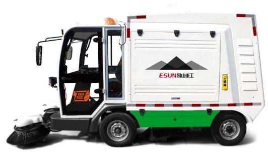 易山重工ESN S2000-LK纯电动清扫车清扫机扫路机扫路车