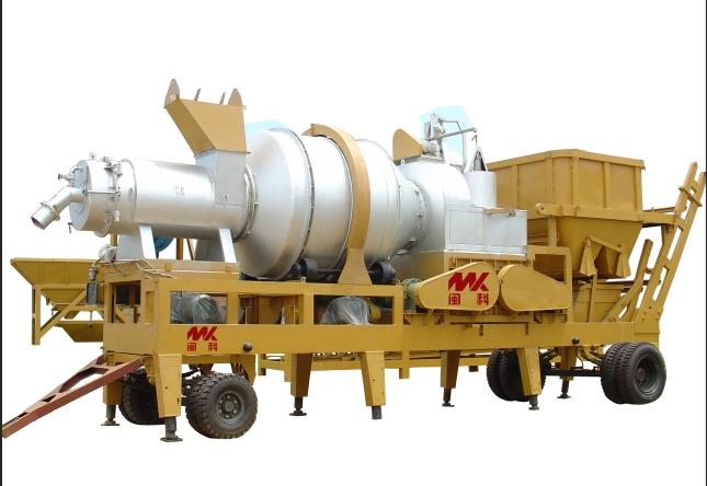 闽科MYQL10\15\20\40MYQL移动强制式系列沥青混合料搅拌设备