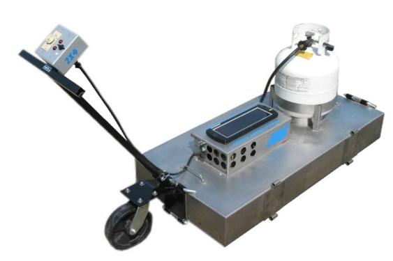 易山重工ESNJ-L2×4手拉型热再生修补机沥青路面修补车(热补)