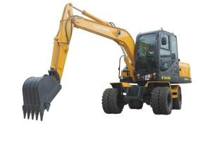远山YS780-10T轮式挖掘机