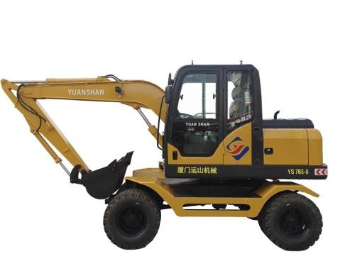 远山YS765-8轮式挖掘机