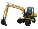 远山YS775-8轮式挖掘机