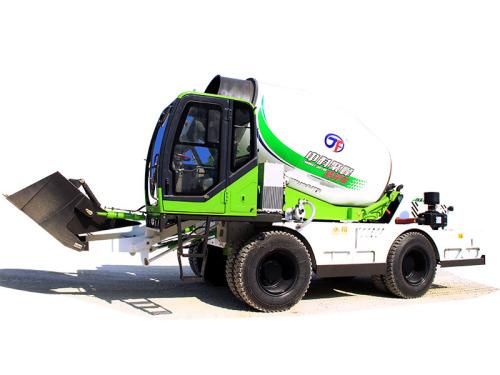 中科聚峰JF6.5方水泥运输车自上料搅拌车