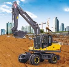 勤牛QNL150E轮式挖掘机高清图 - 外观