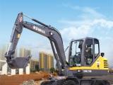 勤牛QNL70E轮式挖掘机高清图 - 外观