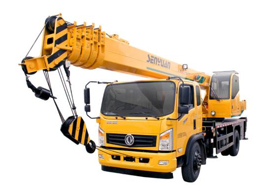 森源重工国五12吨五节臂汽车起重机