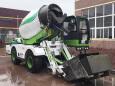 中科聚峰JF-4方B款自上料搅拌车 搅拌运输车农村修路必备工程机械高清图 - 外观