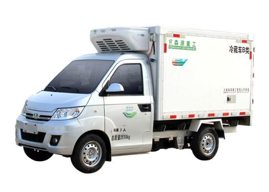 森源重工SMQ5030XLCBEV純電動冷藏車