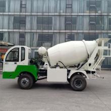 宜迅ZZ-3混凝土搅拌车高清图 - 外观