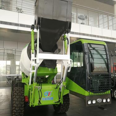 中科聚峰JF-2.6厂家2.6立方小型移动搅拌车 自上料工地砂浆混合拌料车