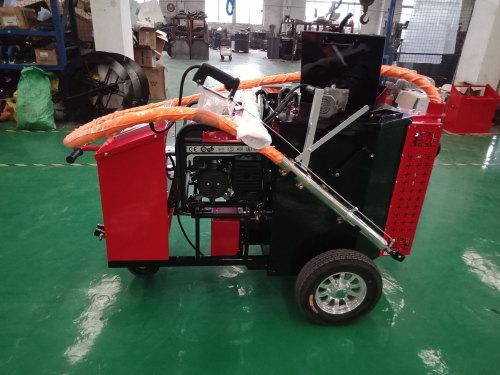 宜迅YX-100小型手推式沥青路面灌缝机