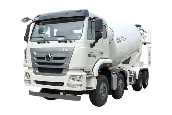 森源重工SMQ5317GJBZ30(轻量化搅拌车)(8方)混凝土轻量化搅拌运输车