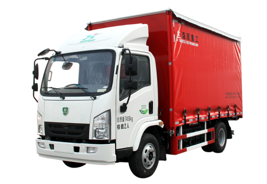森源重工SMQ5073XXYBEV型纯电动厢式运输车