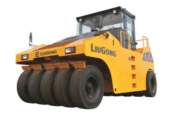 柳工CLG6530轮胎压路机