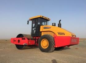 科泰重工KS225HDS-2全液压单钢轮压路机(沙漠王)