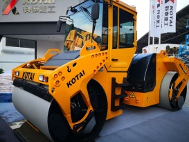 科泰重工KD147HF全液压双钢轮压路机