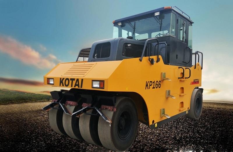 科泰重工KP166轮胎压路机
