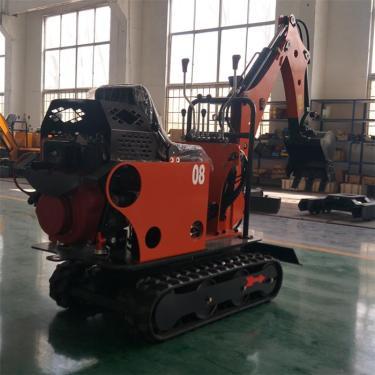 宜迅YX-08小型农用田园挖掘机