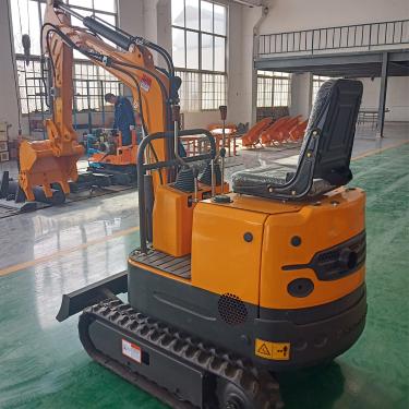 宜迅YX-13小型农用田园挖掘机
