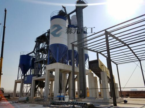 森元重工GCSZ60阶站式干混(粉)砂浆搅拌站