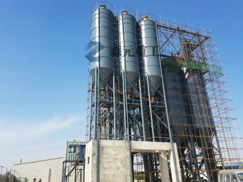 森元重工GCSZ80阶站式干混(粉)砂浆搅拌站