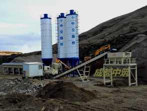 中筑WBC800型模块式稳定土厂拌设备高清图 - 外观