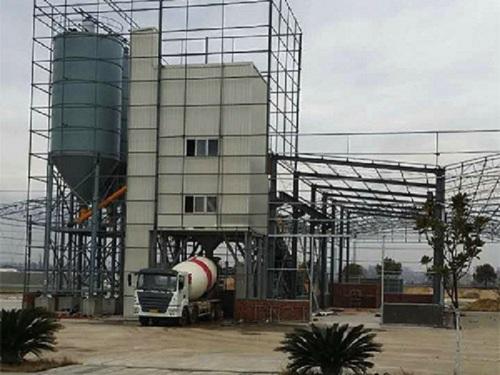 冠成机械HLS120全环保型混凝土搅楼