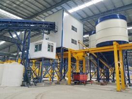 冠成机械HLS60预制构件(PC)专用搅拌站
