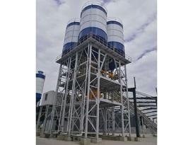 冠成机械HLS60全环保型混凝土搅楼