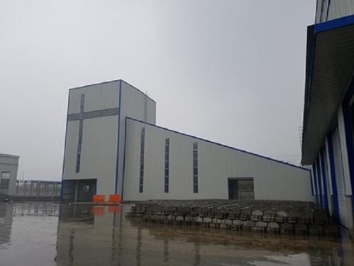 冠成机械HLS180全环保型混凝土搅楼