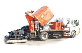 英达科技PM380沥青路面热再生修补车(修路王)