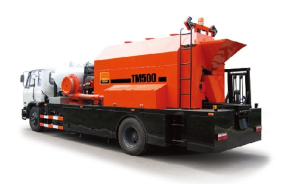 英達TM500瀝青路面快速加熱修補車