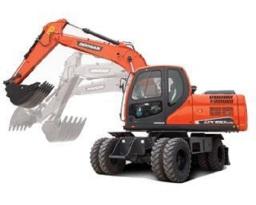 斗山DX150W-9C挖掘机
