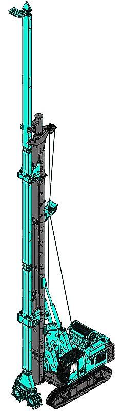 上海金泰SC30液压铣销搅拌钻机