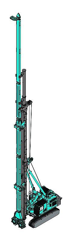 上海金泰SC35液压铣销搅拌钻机