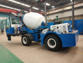 祥瑞重工ZZ-2自制2方自上料混凝土搅拌车