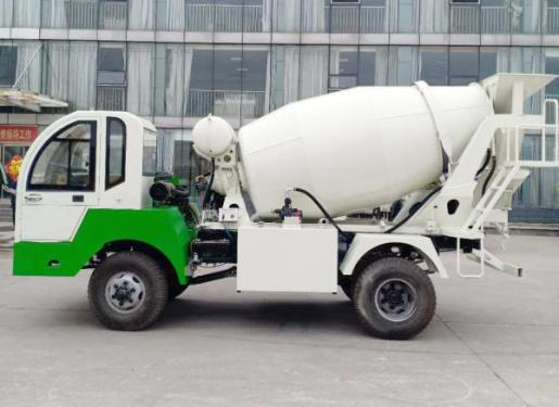 祥瑞重工ZZ-4自制底盘4—8方混凝土搅拌运输车
